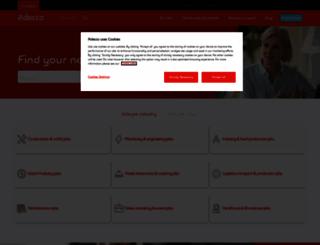 adecco.ch screenshot