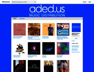 aded.bandcamp.com screenshot