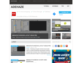adehaze.com screenshot