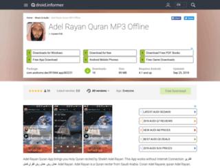 adel-rayan-quran-mp31.droidinformer.org screenshot