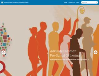 adelaide.catholic.org.au screenshot