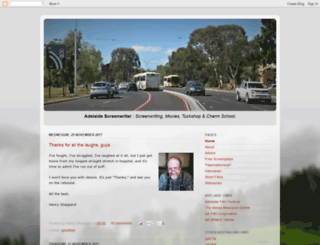 adelaidescreenwriter.blogspot.com screenshot