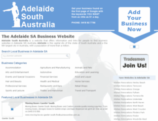 adelaidesouthaustralia.net screenshot