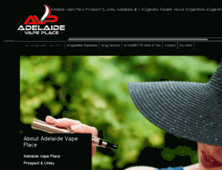 adelaidevapeplace.com.au screenshot