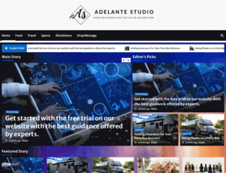 adelantestudio.com screenshot
