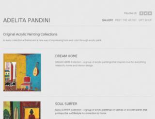 adelitapandini.weebly.com screenshot
