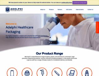 adelphi-hp.com screenshot
