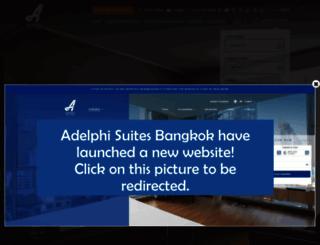 adelphisuites.com screenshot