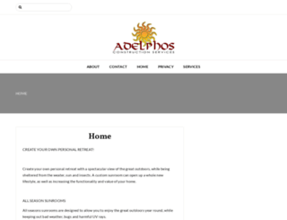 adelphosconstruction.ca screenshot