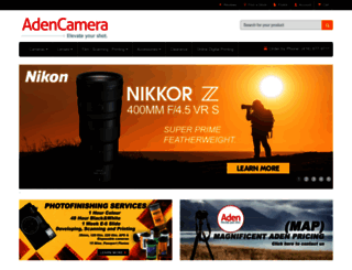 adencamera.com screenshot