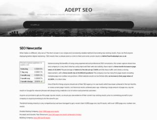 adept-seo.co.uk screenshot
