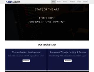 adeptstation.com screenshot