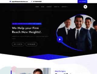 adequatewebsolution.com screenshot