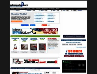 adessowind.com screenshot