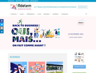 adetemclubs.fr screenshot