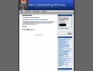 adewii.wordpress.com screenshot