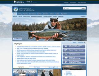 adfg.alaska.gov screenshot