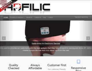 adfilic.com screenshot