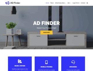 adfinder.be screenshot