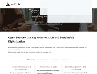 adfinis.com screenshot