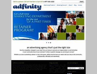 adfinity.com screenshot