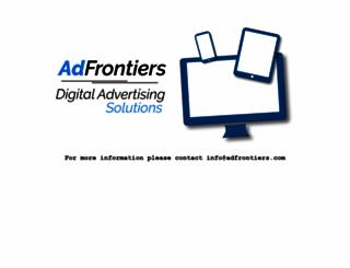 adfrontiers.com screenshot