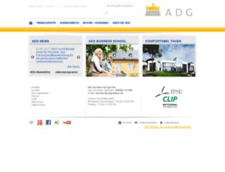 adg-online.de screenshot