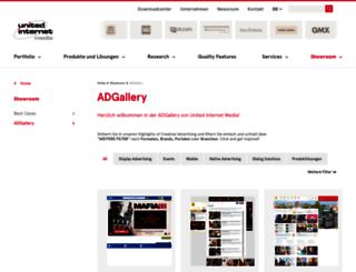 adgallery.united-internet-media.de screenshot