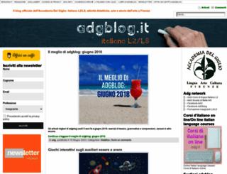 adgblog.it screenshot