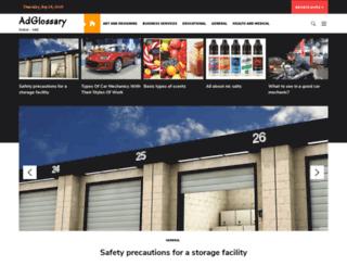 adglossary.com screenshot