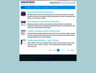 adhani.com screenshot