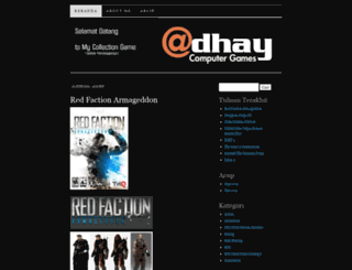 adhaygames.wordpress.com screenshot