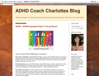adhd-coach-charlotte.blogspot.dk screenshot