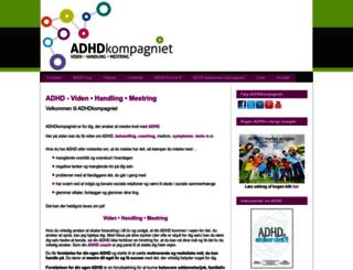 adhd-coaching.dk screenshot