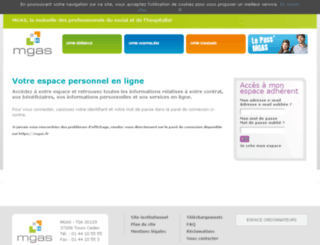 adherents.mgas.fr screenshot