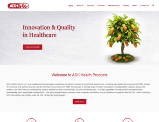 adhhealth.com screenshot