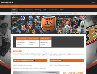 adhshl.com screenshot