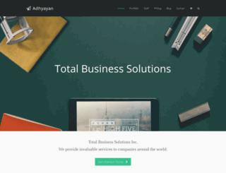 adhyayan.co.in screenshot