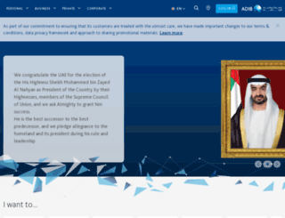 adib.com screenshot