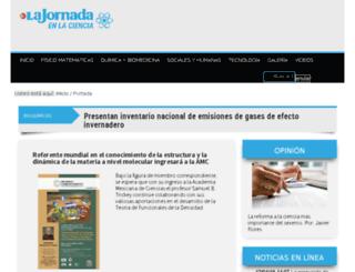 adicciones.jornada.com.mx screenshot