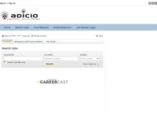 adicio.adicio.com screenshot