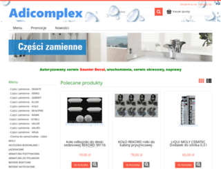adicomplex.istore.pl screenshot