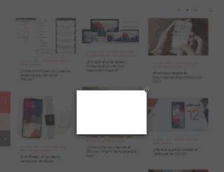 adictosaliphone.org screenshot