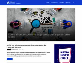 adictosaltrabajo.com screenshot