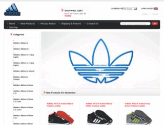 adidasaustralia2012.com screenshot