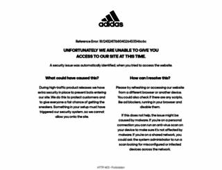 adidasbasketball.com screenshot