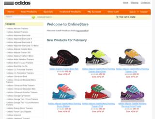 adidasclimacooltrainers.co.uk screenshot