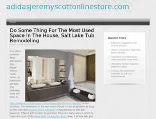 adidasjeremyscottonlinestore.com screenshot