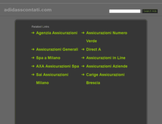adidasscontati.com screenshot
