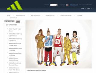 adidasshoesukstore.com screenshot